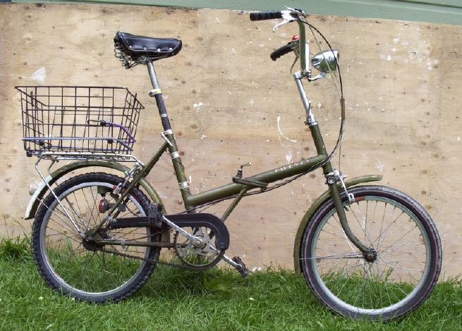 Photo of folding bike